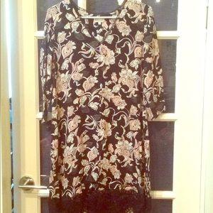 Floral tunic dress. Claudie pierlot